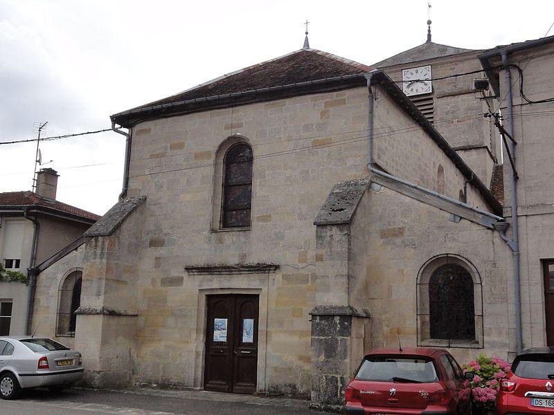 Église Saints-Pierre-et-Paul de Rupt-aux-Nonains.