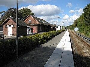 Ølgod - Ølgod railway station