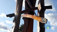 File:ŠOK - Postavitev skulpture Dragice Čadež.webm