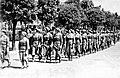 Šaulės žygiuoja pro Nežinomojo kareivio kapą, Kaunas 1939-06-24.jpg