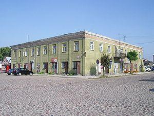 Żelechów - Town hall in the Market Square (Rynek)