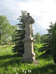 Socha svatého Antonína