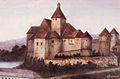 Žužemberk Castle 1900.jpg