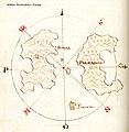 Χάρτης των νησιών Πόντζα και Παρμαρόλα - Antonio Millo - 1582-1591.jpg