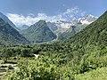 Вид на Дигорские горы со стороны курорта Порог неба.jpg