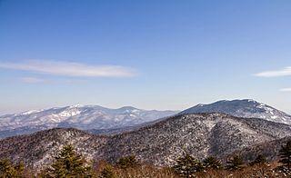 Sikhote-Alin mountain range