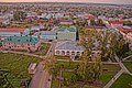 Вид с колокольни Спасского собора на центр города при заходе солнца. Елабуга, Татарстан.jpg