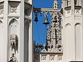 Готическая церковь св. Александра Невского, колокольня, Россия, Санкт-Петербург, Петергоф, парк Александрия (1).JPG
