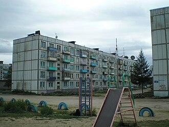 Alakurtti (rural locality) - Residential area in Alakurtti