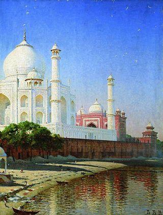 Мавзолей Тадж-Махал, 1874-1876