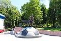 Пам'ятник В. В. Лобановському Київ Грушевського Михайла вул., 3.JPG