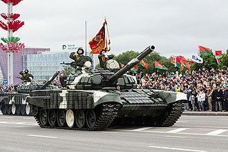 Armed Forces of Belarus - Image: Парад по случаю Дня независимости Белоруссии при участии авиации ЗВО (10)