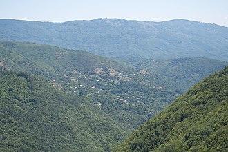 Zbaždi - Panoramic view of the village