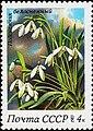 Почтовая марка СССР № 5397. 1983. Весенние цветы.jpg