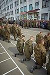 Президент України Петро Порошенко привітав молодих офіцерів з випуском 473 (16323349454).jpg