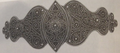 Пряжка женского пояса, серебро, город Шуши (Арцах). 1908 г..png