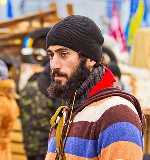 Serhiy Nigoyan Ukrainian activist