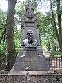 Тихвинское кладбище Могила Достоевского.jpg