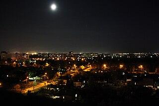 Cherkasy City in Ukraine