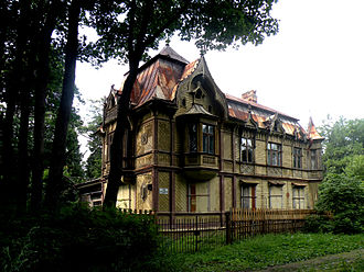 Maximilian Messmacher - Messmacher's house in Pargolovo