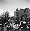 """ירושלים - ביום ההפגנה נגד ה""""ספר הלבן"""" ברחוב אוסישקין ליד ביתו-JNF012456.jpeg"""