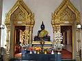 หลวงพ่อดำ วัดตะคร้ำเอน Luang Phor Dam (Black Buddha Image) in Takhram En Temple - panoramio (5).jpg