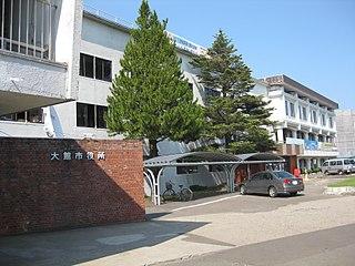 Ōdate City in Tōhoku, Japan