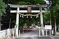 愛宕稲荷神社西側の鳥居 飯田市愛宕町 2014.9.09 - panoramio.jpg