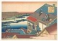 百人一首 うばがゑとき 伊勢-Poem by Ise, from the series One Hundred Poems Explained by the Nurse (Hyakunin isshu uba ga etoki) MET DP140969.jpg