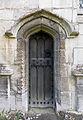 004 Stoke Rochford Ss Andrew & Mary, exterior - north chapel door.jpg