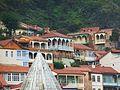 007 Tbilissi Vieille ville Balcons de bois.JPG