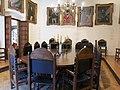 013 Palau Requesens, seu de la Reial Acadèmia de Bones Lletres (Barcelona), sala de juntes.jpg