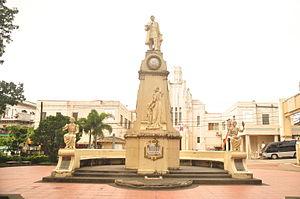 Sariaya - Image: 01 Jose Rizal Monument Sariaya