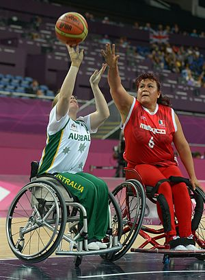 Katie Hill - Hill at the 2012 London Paralympics