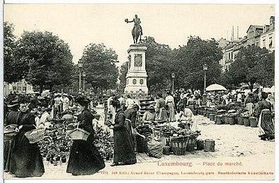 07181-Luxemburg-1906-Place du marche-Brück & Sohn Kunstverlag.jpg