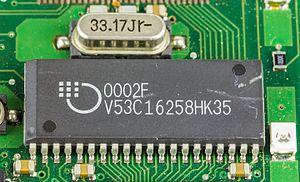 Mosel Vitelic Corporation - DRAM V53C16258HK35 by Mosel Vitelic