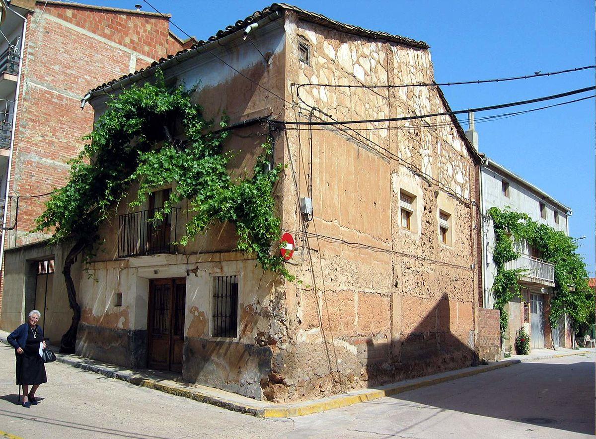 Arquitectura del rinc n de ademuz wikipedia la for Casas rurales con piscina comunidad valenciana