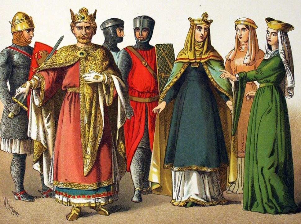 1000-1100, Norman. - 033 - Costumes of All Nations (1882)
