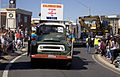 100 years of the turning on the water in the MIA float on a 1957 International truck in the SunRice Festival parade in Pine Ave.jpg
