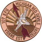 107th Expeditionary Fighter Squadron - Emblem