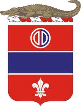 Florida Army National Guard - Image: 116FARegt COA