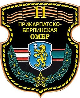 11th Guards Berlin-Carpathian Mechanized Brigade