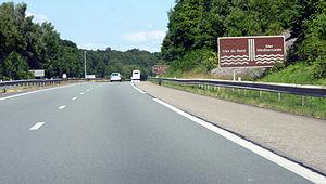 A36 autoroute - A36 near Mulhouse