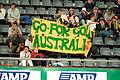 141100 - Cycling track Australian fans cheer - 3b - 2000 Sydney event photo.jpg