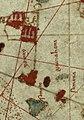 1500 - Mapa de Juan de la Cosa - Guanahani e islas vecinas.jpg