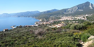 Cala Gonone - Image: 1529bay Cala Gonone From The North