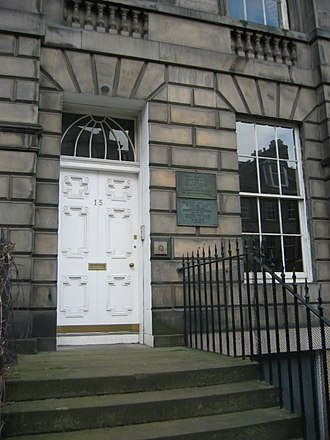 Lofsöngur - The town house in Edinburgh where Lofsöngur was composed