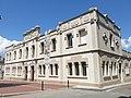 163 Antigues escoles, pl. Primer Homenatge a la Vellesa 1 (Sant Sadurní d'Anoia).jpg