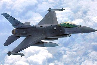316th Fighter Squadron - 169th Fighter Wing F-16CJ, AF Ser. No. 93-0535, flown by the 316th Fighter Squadron