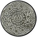1776 Continental Currency dollar coin reverse.jpg